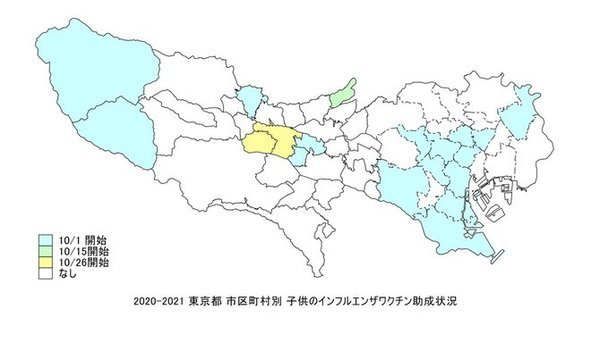 東京都の子供のインフルエンザ助成.jpg